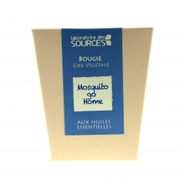 BOUGIE VEGETALE MOSQUITO GO HOME 130 g