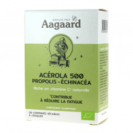 ACEROLA 500MG+ PROPOLIS + ECHINACEA 20 COMPRIMES A CROQUER*